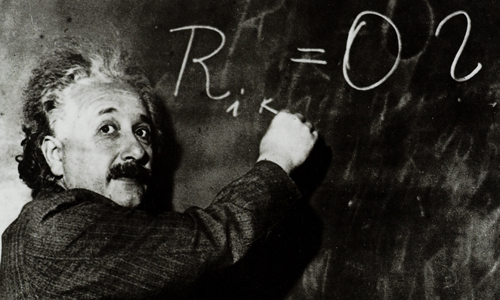 LR Einstein au tableau 64-098-011