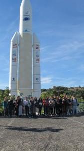 Devant Ariane 5