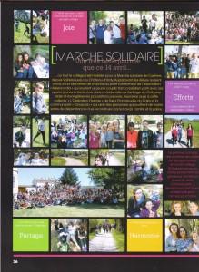 La Marche Solidaire: Grand Moment de Vie pour Tous!